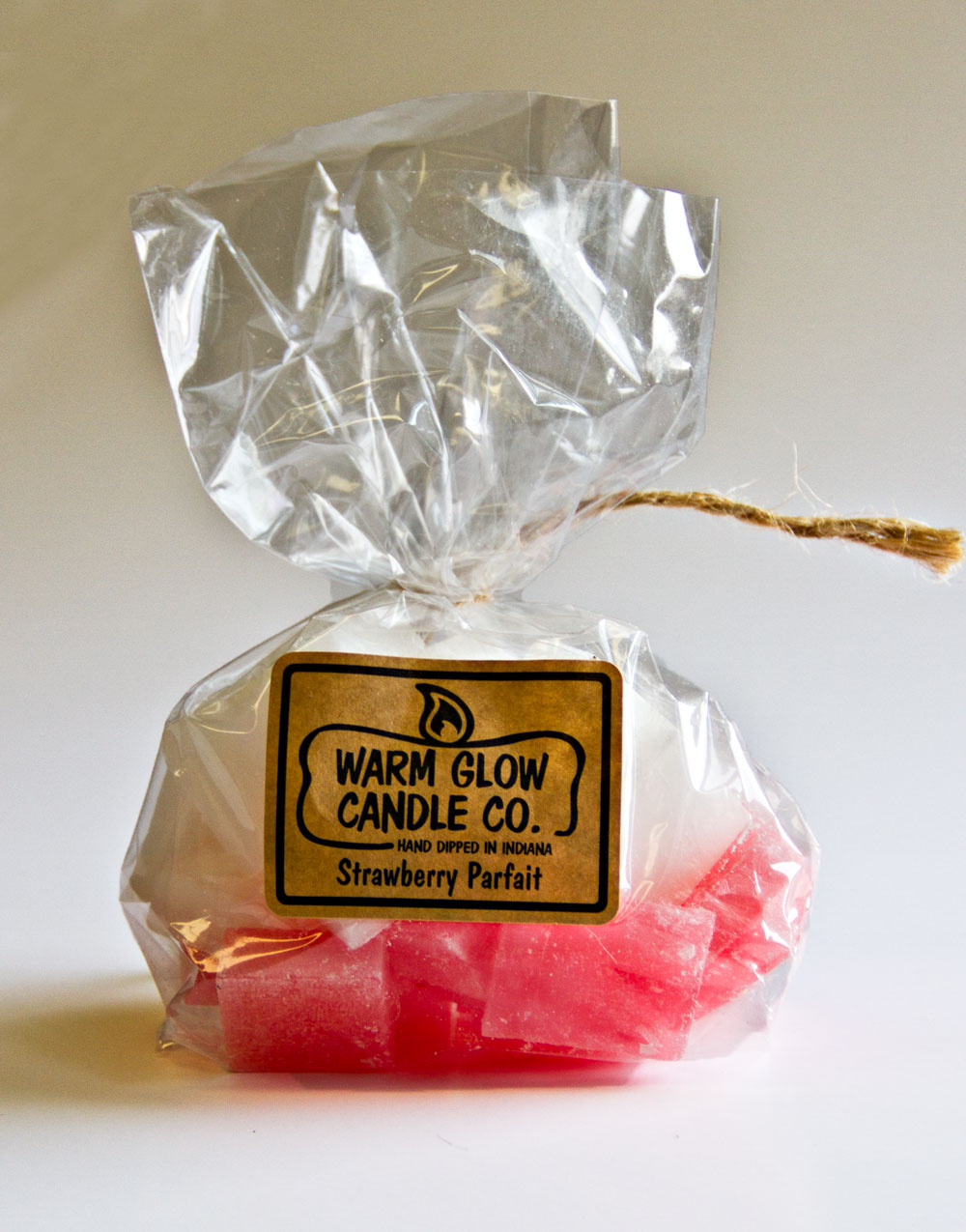 Strawberry Parfait Warm Glow Scented Wax Chips
