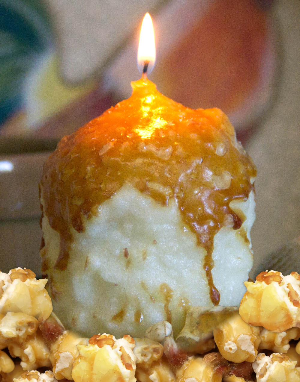 Caramel Corn Oversized Votive