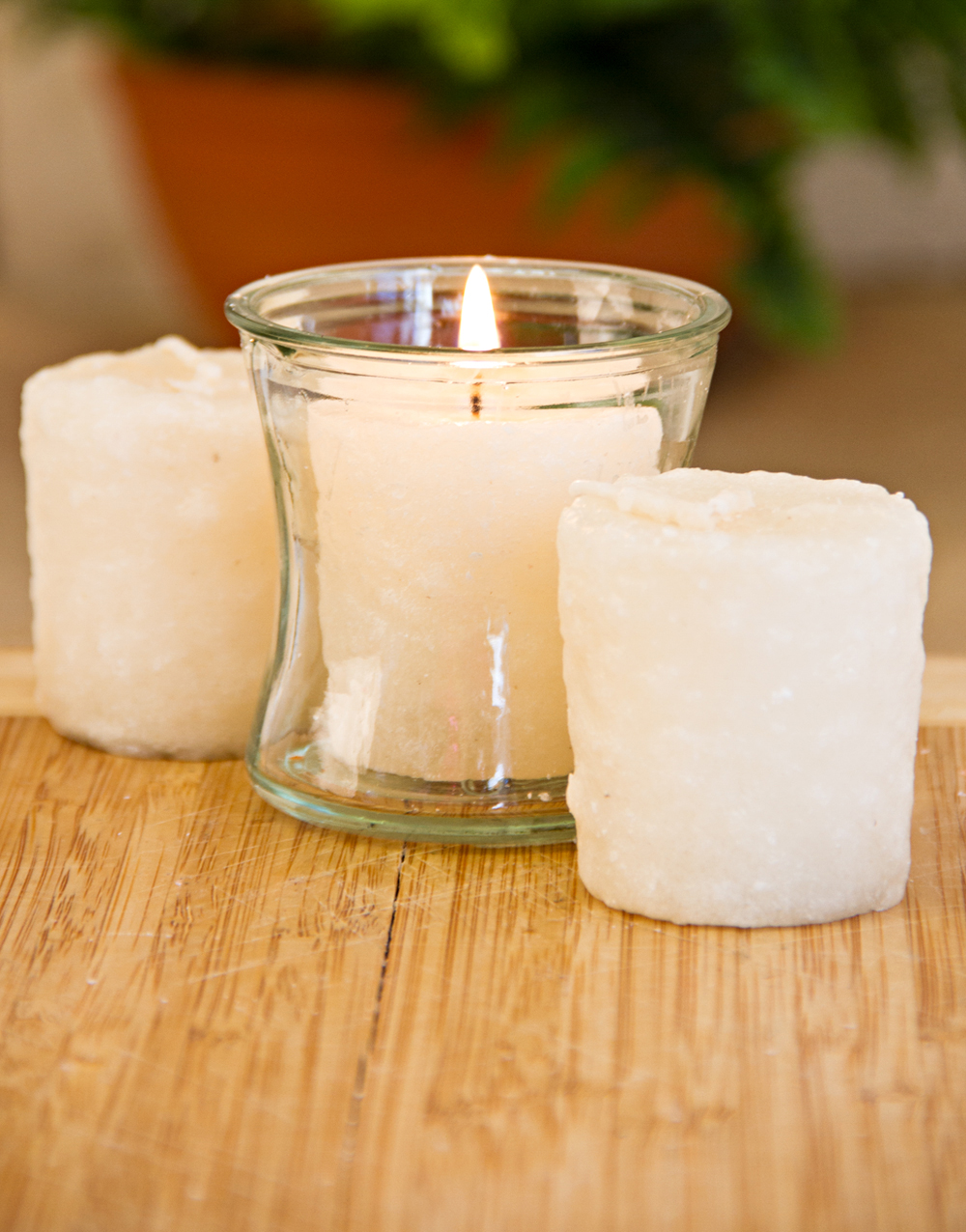 Country Spice 3 Pack Votive Candles