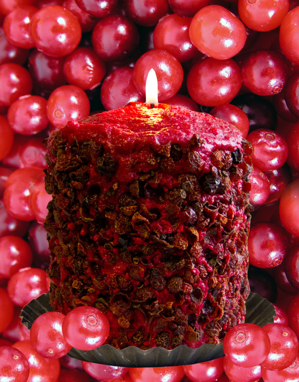 Homespun Harvest Hearth Candle