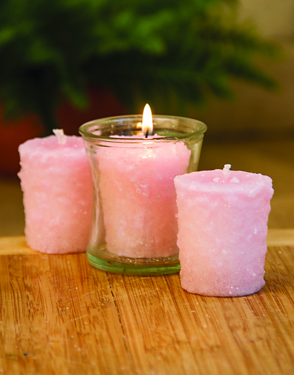 Honeysuckle 3 Pack Votive Candles