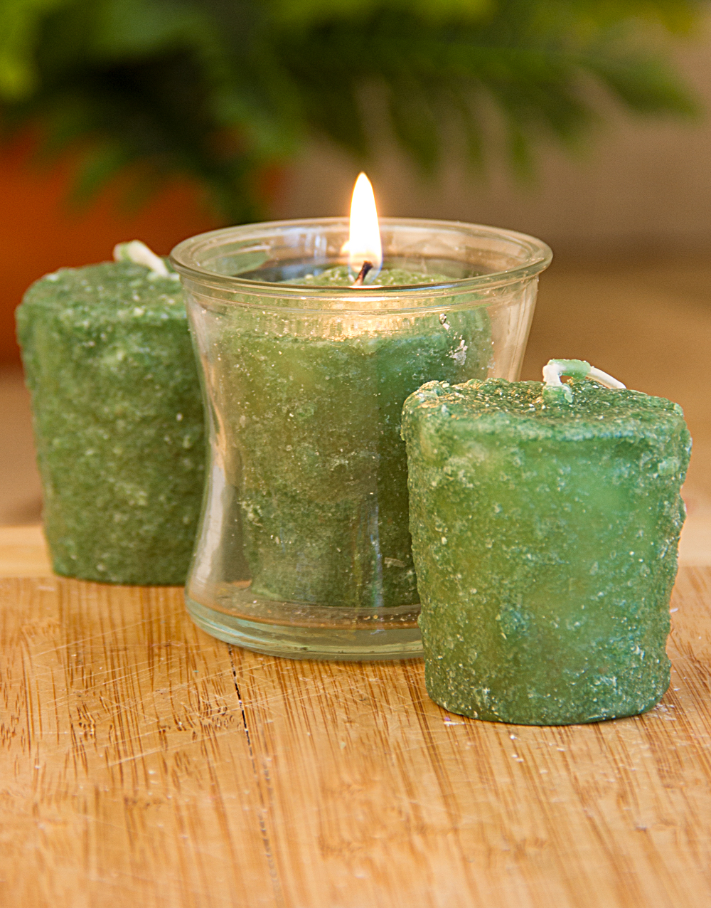 Melon Splash 3 Pack Votive Candles