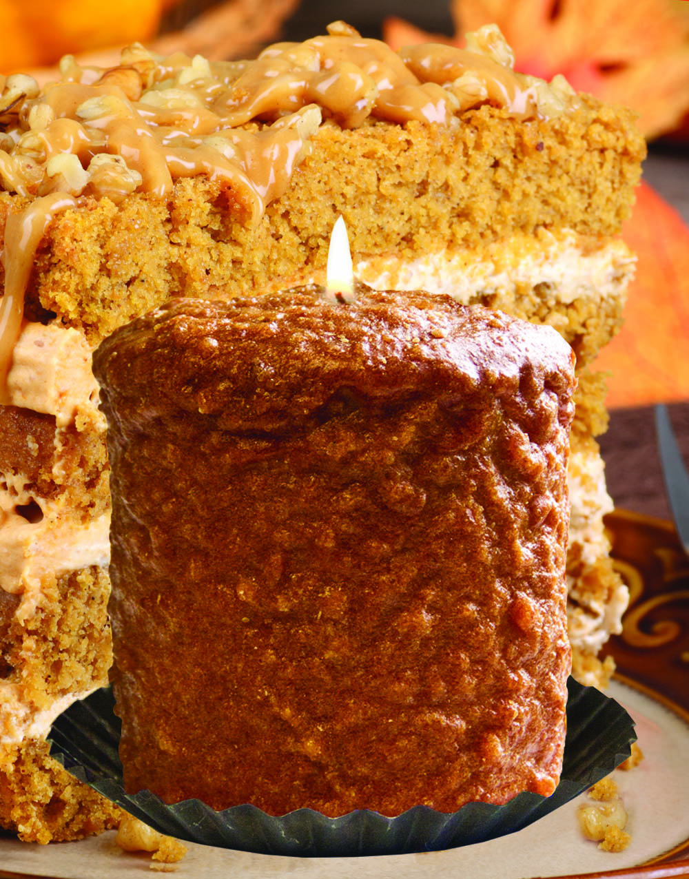 Pumpkin Crumb Cake Hearth Candle