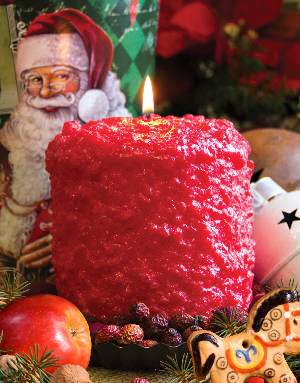 Santa's Cider Hearth Candle