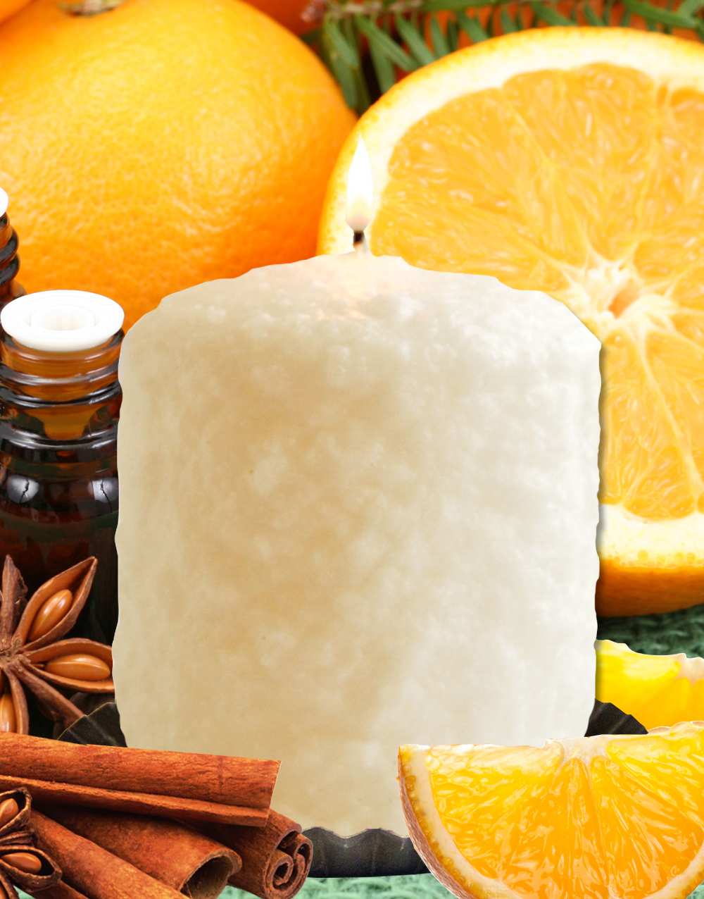 Spicy Citrus Hearth Candle