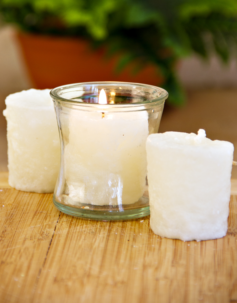 White Cherry Cheesecake 3 Pack Votive Candles