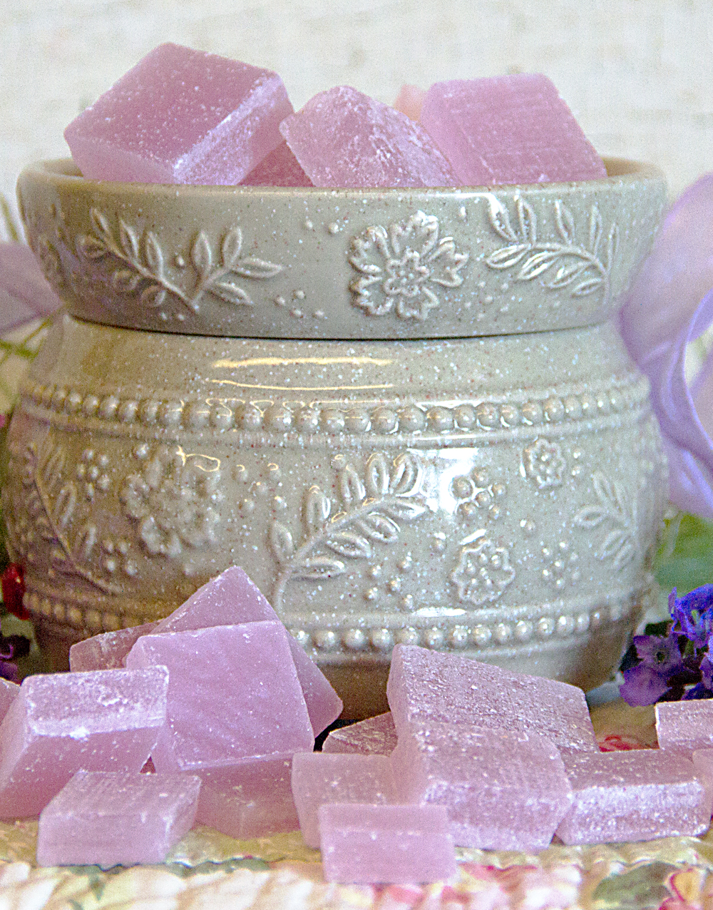 Vintage Lavender Warm Glow Scented Wax Chips