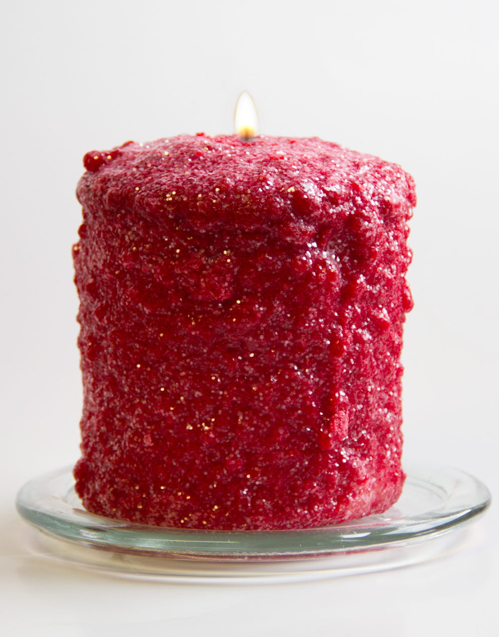 Cranberry Stardust Hearth Candle
