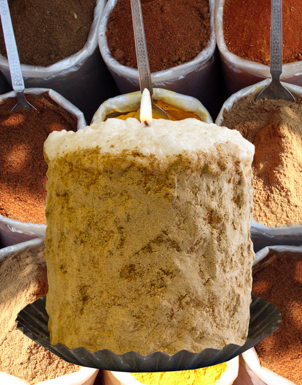 Country Spice Hearth Candle