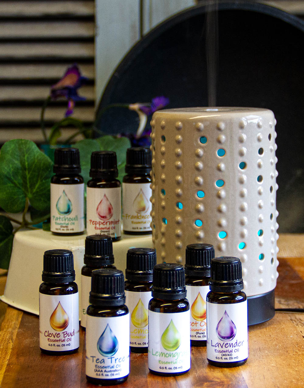 Warm Glow Essential Oils