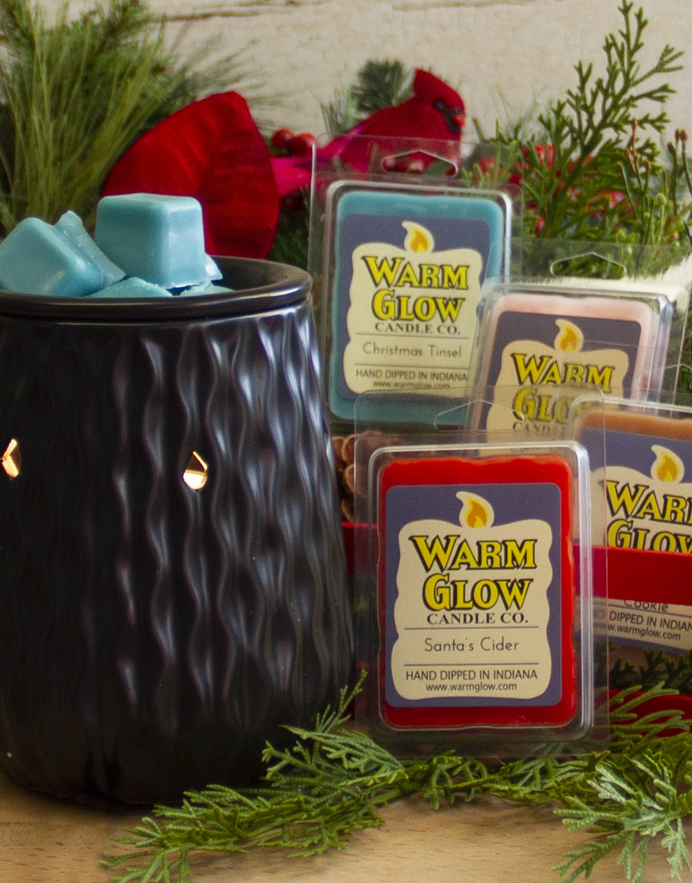 Christmas Memories Warmer Set