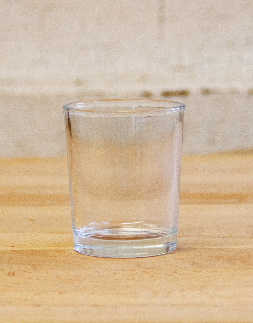 Smooth Glass Votive Cup