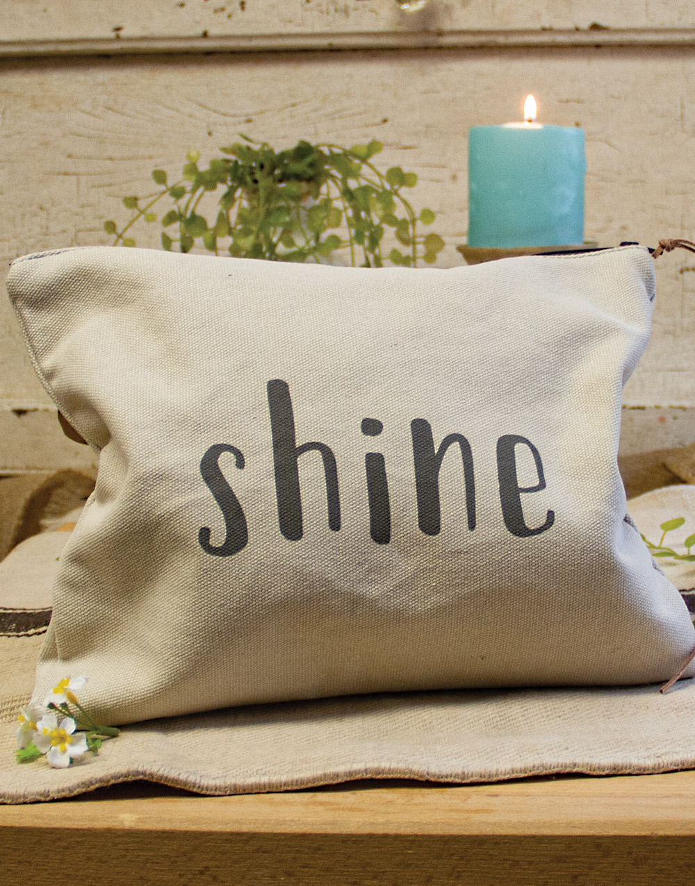 Shine Large Rectangle Pouch