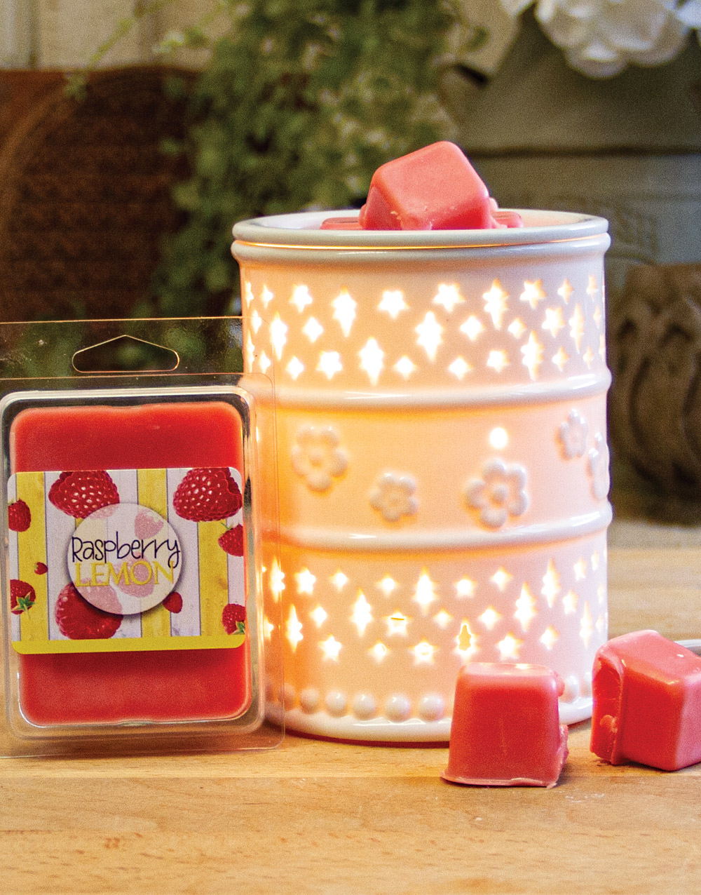 Aurora Scented Melts – Raspberry Lemon