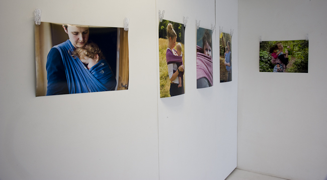 Babywearing exhibition review.