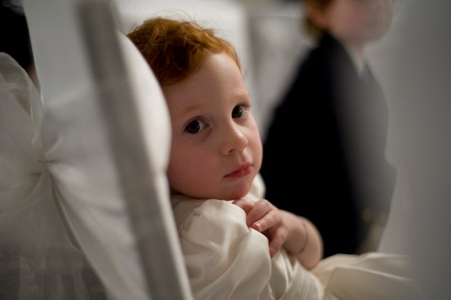 Young Bridesmaid, New Year's Eve Wedding, Woodlands Park Hotel, Cobham. Photographed by Anna Hindocha/Warm Glow Photo