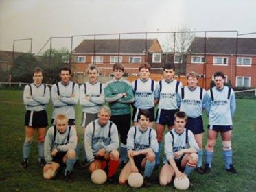 Warminster Town FC Reserves 1987