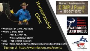 C Bar J Horsemanship Clinic @ C Bar J Ranch