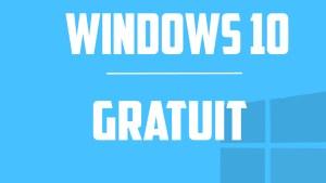 windows 10 gratuit pour windows 7