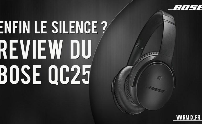 Review Bose Quiet Comfort 25