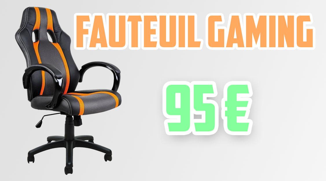 Chaise Gaming bon rapport qualité prix !