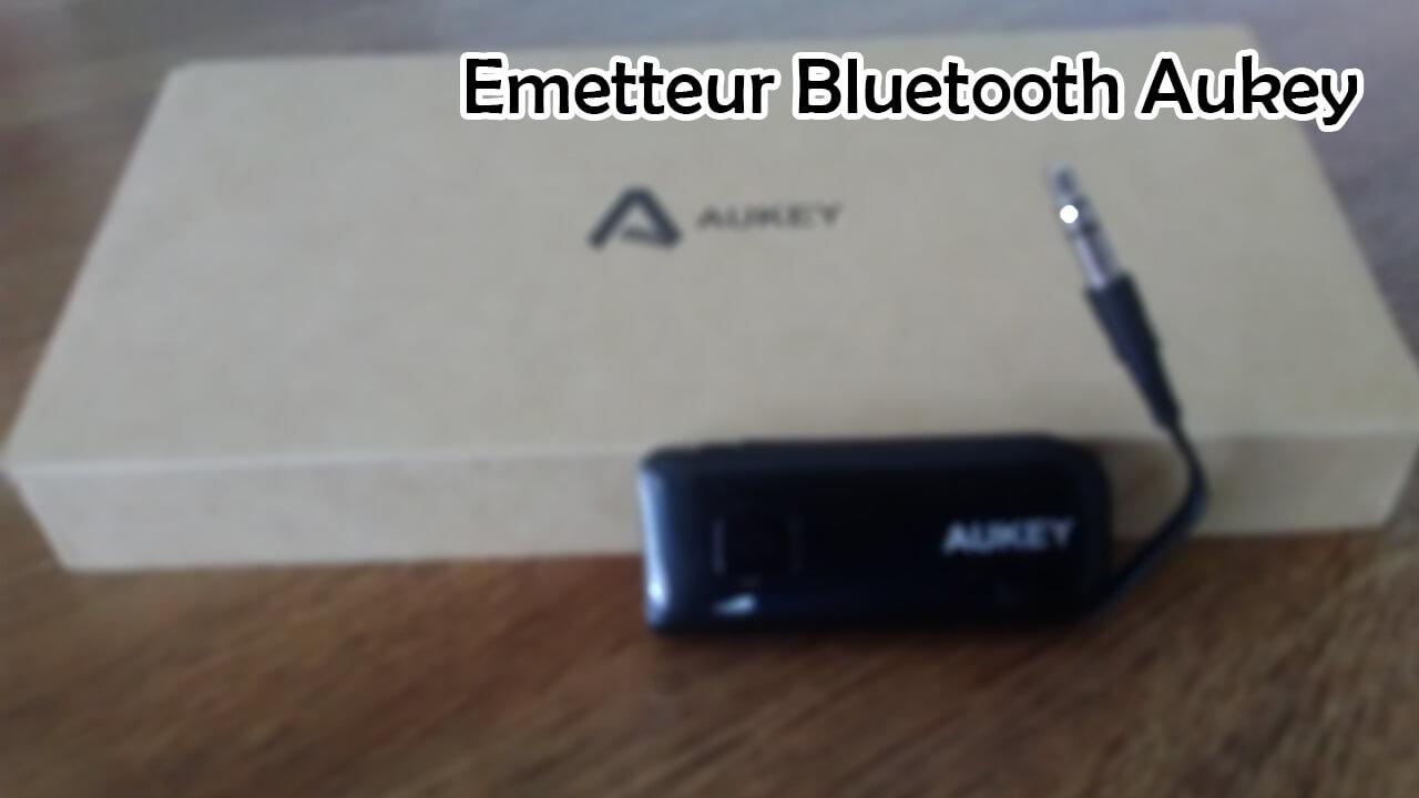 REVIEW – TEST de l'émetteur Bluetooth Aukey (20 euros)!
