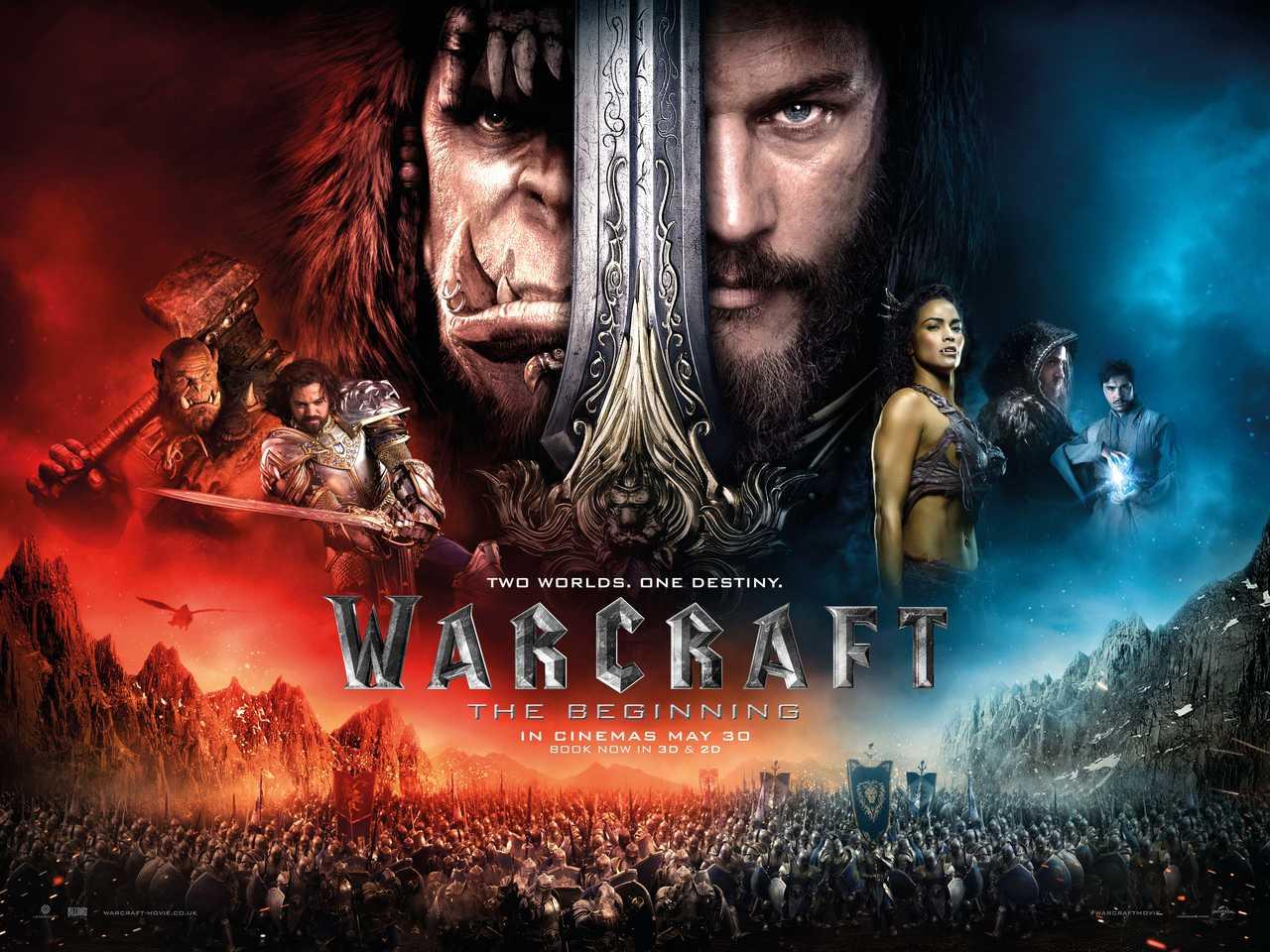 Le film Warcraft : Le commencement vient de sortir au cinéma !