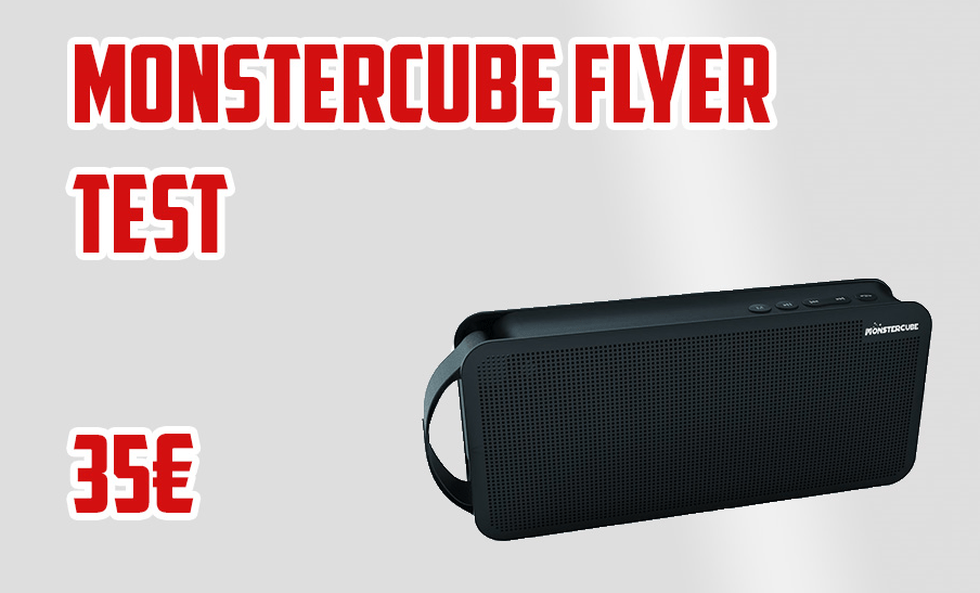 Review & Test de l'enceinte bluetooth Monstercube Flyer ! - Avis