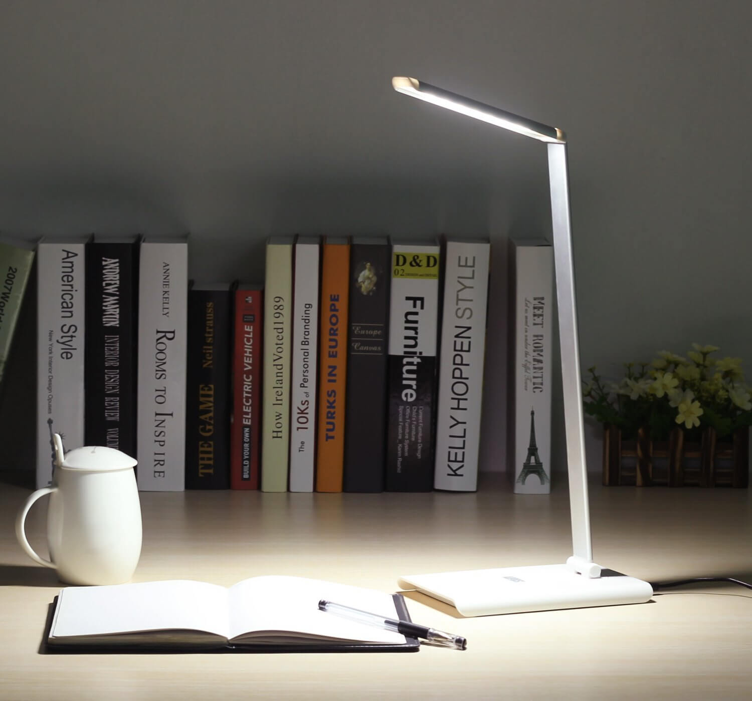 Test lampe bureau august pas cher gaming