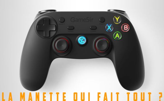Test manette gamesir G3s