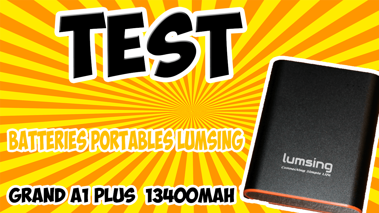 Affiche Batteries Lumsing GRAND A1 PLUS 13400 MAH