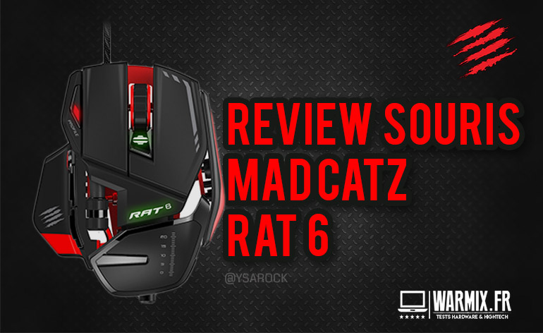 Madcatz rat 6 test review