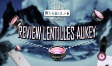 Review/Test du Set 3 en 1 de lentilles pour Smartphone AUKEY ! – 13 €