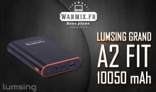 Test & Review : la batterie Grand A2 Fit 10050 mAh de chez Lumsing ! – Avis 2017