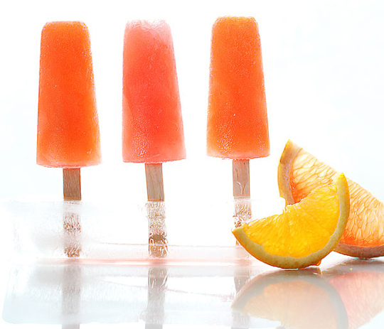 Campari Citrus Popsicles