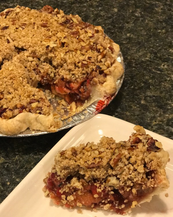 Apple Pie w/ Walnut Crumble topping