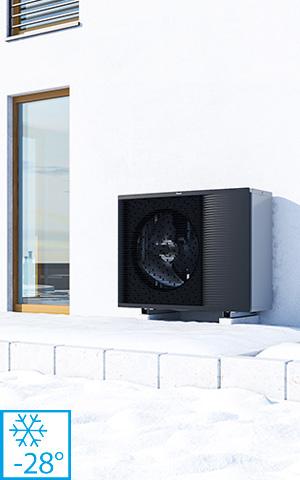 pompa de caldura functioneaza pana la -28°C