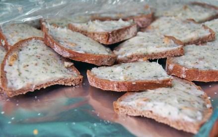 herzhafte Brote - bearbeitetes Foto
