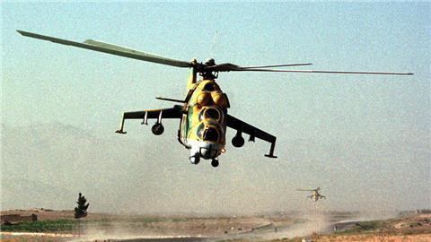 Russia moves in Gunships replacing jets in Syria