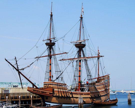 """Mayflower 2, By Paul Keleher - """"Mayflower II"""" on flickr, CC BY 2.0,"""