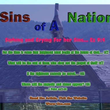 National Sins; Sighing and Crying article image