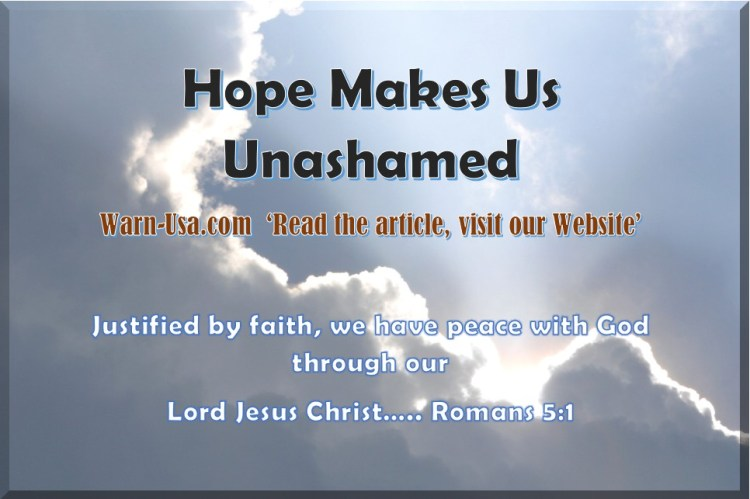 Christian Hope Makes Us Unashamed article image