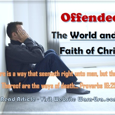 Offended: The World and the Faith of Christ article image
