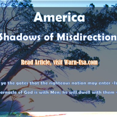 "AMERICA ""SHADOWS OF MISDIRECTION"" Article image"