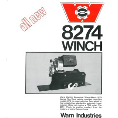 Wiring Diagram For Warn 8274 Winch Lights The History Of M8274 Industries Go Prepared Ad From 1974