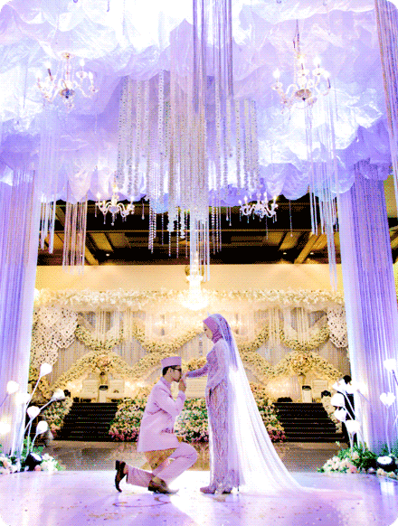 contoh foto wedding romantis