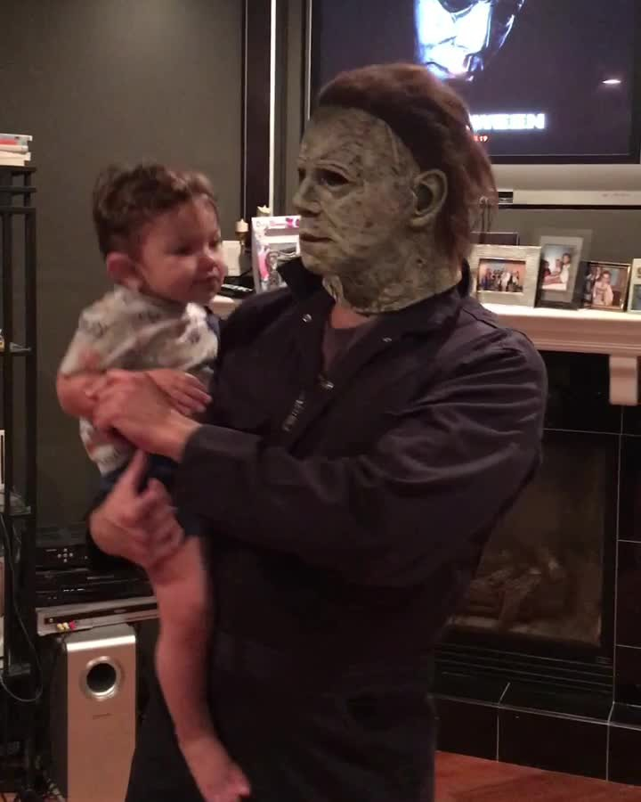 baby dances with michael