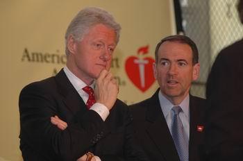 Huckabee Clinton