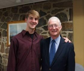 Nick Trombley and Friends President Emeritus John Crosby