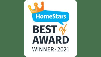 Homestars award winner 2021
